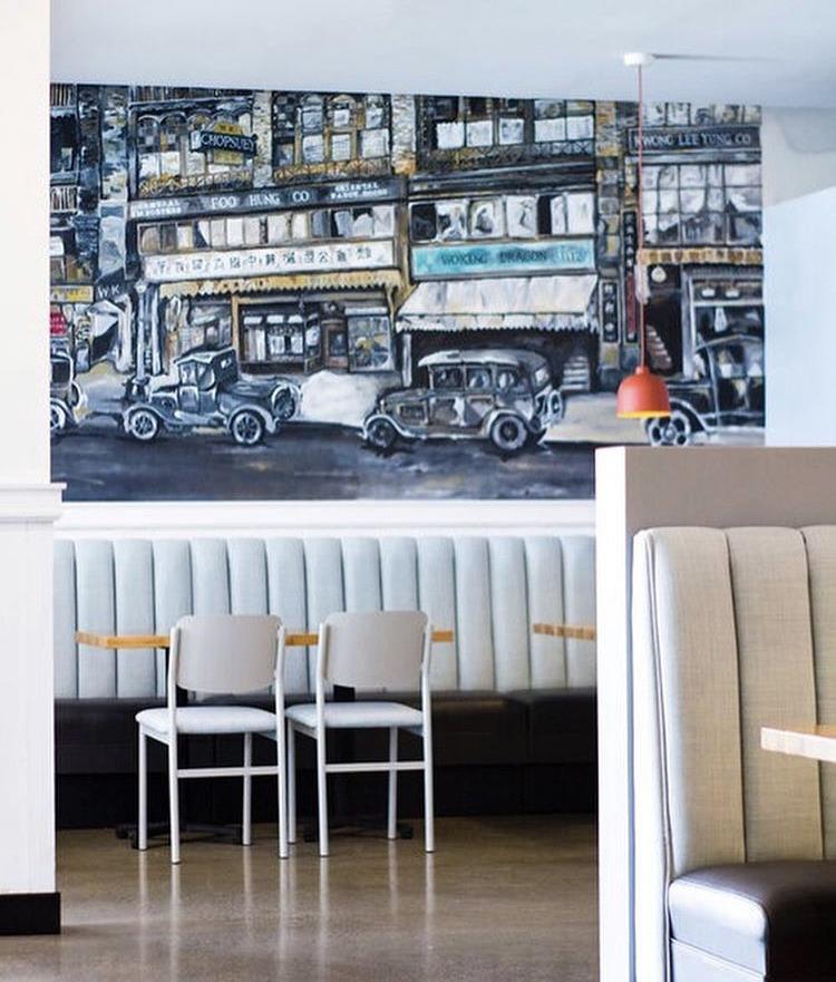 White Restaurant Stools