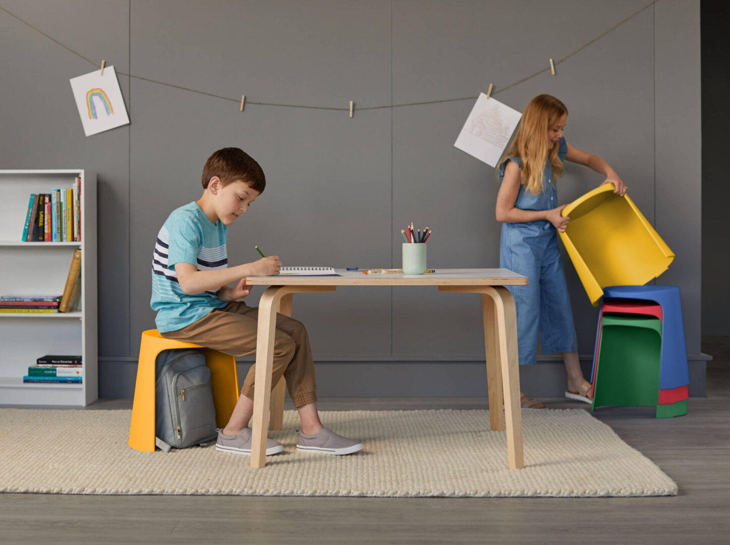 Children's Tables and Stools