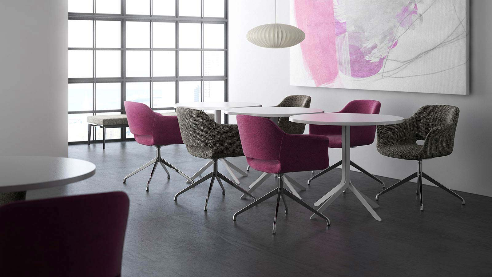 Furniture for Lounge and Collaborative Purposes