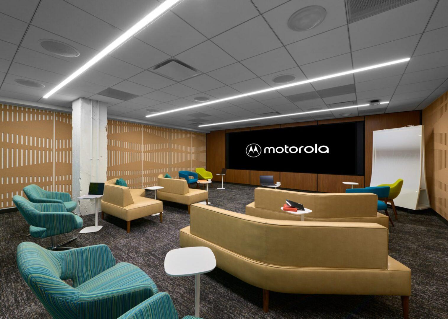 Furniture inside a presentation room